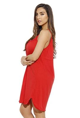 1520C-S-Red-Dreamcrest-Nightgown-Womans-Pajamas-Women-Sleepwear-0-0