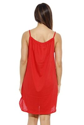 1520C-S-Red-Dreamcrest-Nightgown-Womans-Pajamas-Women-Sleepwear-0-1