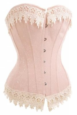 AlivilaY-Fashion-Womens-Sexy-Vintage-Lace-Trim-Corset-2606-Pink-5XL-0