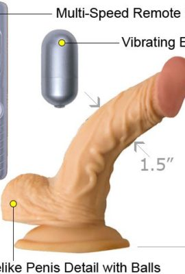 All-American-Real-Skin-Mini-Whoppers-Vibrating-Dong-Flesh-5-Inch-0