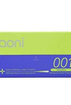 Aoni-Condoms-Ultrathin-001-Worlds-Thinnest-Latex-Condom-by-Guinness-World-Record-12Pcs-0