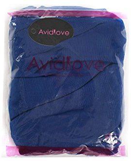 Avidlove-Women-Lingerie-3-Pieces-Chemises-Lace-Babydoll-Mini-Sleepwear-Set-Blue-S-0-4