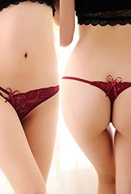 Baishitop-Women-Lace-Lingerie-Sexy-G-String-Panty-Briefs-Knickers-Red-0