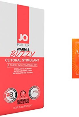 Bundle-2-Items-JO-Warm-Buzzy-Clitoral-Stimulant-10-ml-5-Pack-Toy-Cleaner-3295X-0