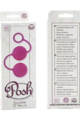 California-Exotic-Novelties-Posh-Silicone-o-Balls-Pink-0-1