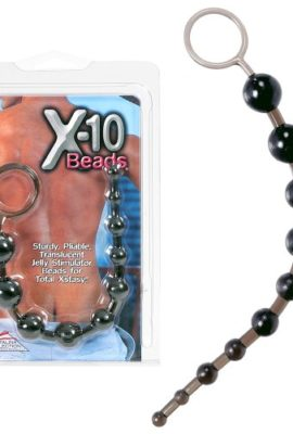 California-Exotics-X-10-Beads-Black-0
