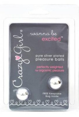 Crazy-Girl-Pure-Silver-Plated-Pleasure-Balls-with-Keepsake-Bag-0