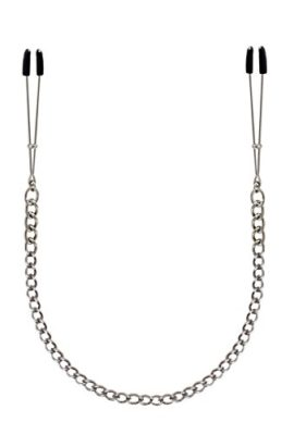 DAYAN-SM-Breast-Vaginal-Nipple-Clamps-with-Chain-Clip-BDSM-Bondage-Metal-Silver-0