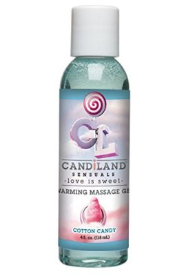 Doc-Johnson-Candiland-Sensuals-Flavored-Warming-Massage-Gel-Cotton-Candy-4-Fluid-Ounce-0