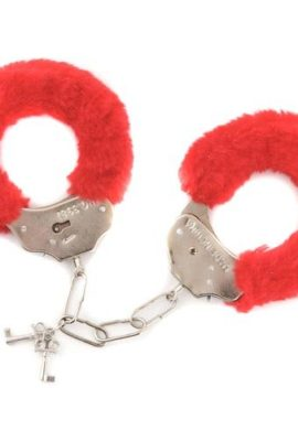 Furry-Handcuffs-Sexy-and-Soft-RED-0