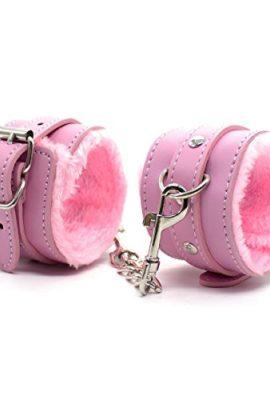 Hiti-Furry-Handcuffs-Sexy-Wrist-Restraints-Role-Play-Flirt-Tools-in-Pink-0