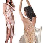 Miorre-Papaya-Satin-Long-Gown-G-String-Set-Large-0