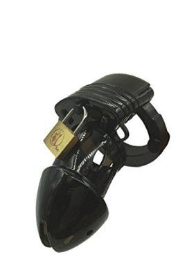 MorningGo-Lightweight-Adjustable-Plastic-Male-Chastity-Device-Black-0