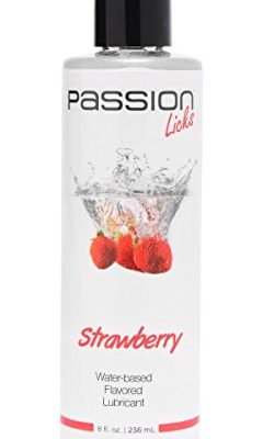 Passion-Lubes-Passion-Licks-Strawberry-Water-Based-Flavored-Lubricant-8-Ounce-0